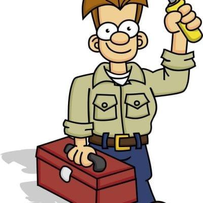 maintenance man illustration