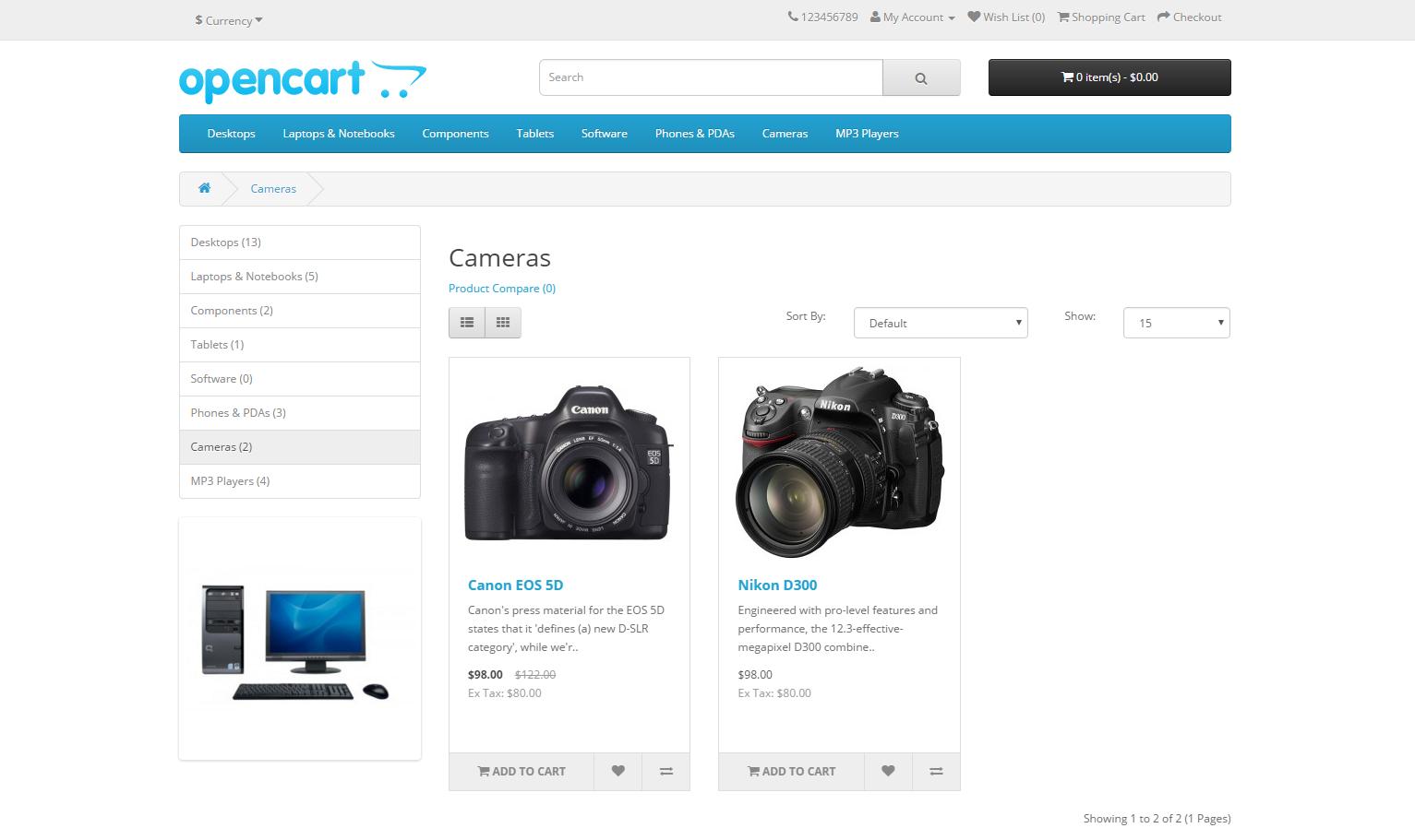 Custom eCommerce Features