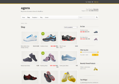 Ecommerce sites with customised products