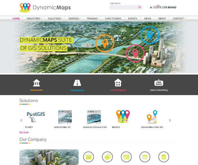 Corporate and Commercial Brochure Sites