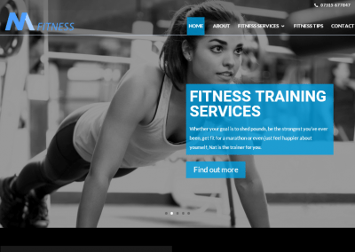 Fitness Coaching Websites