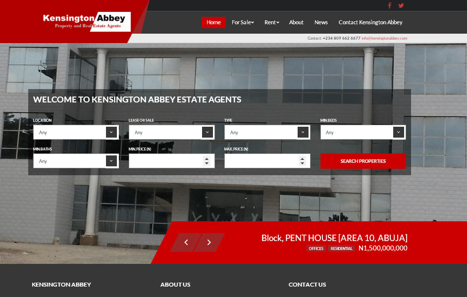 Property and Complex Search Sites