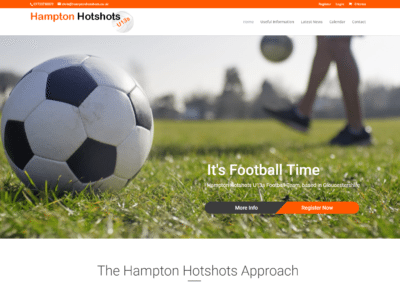 Websites for Sports Clubs and Teams with Membership